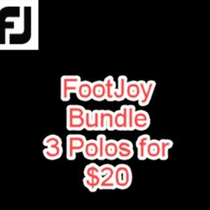 FootJoy Golf Shirts - 3 for $20